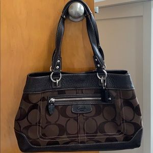Coach Purse - Large Handle Bag